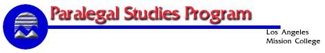 Paralegal Studies Program